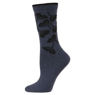 e.g. smith Ginko Leaf Crew Socks with Recycled Yarn!  Made in USA