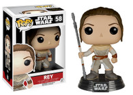 Star Wars The Force Awakens (EP7) Movie Based Pop! Collectible by Funko - Rey + BONUS!