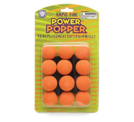 Hog Wild Popper Refill Balls set of 12 - Orange