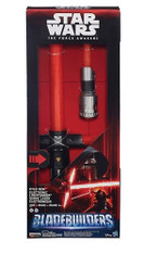 Star Wars The Force Awakens Kylo Ren Deluxe Electronic Lightsaber, 22 inch (55 cm) + BONUS!