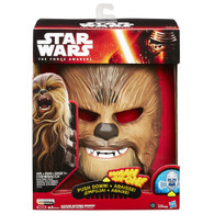 Star Wars The Force Awakens Chewbacca Electronic Mask, 9.5 inch (24 cm) + BONUS!