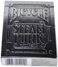 Bicycle Silver, Steampunk Card Deck Playing Cards