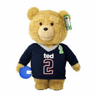TED2 16 inch Animated Plush in JERSEY with Sound (EXPLICIT) in display box