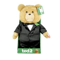 TED2 16 inch Animated Plush in TUXEDO with Sound (EXPLICIT) in display box