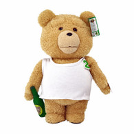 TED2 16 inch Animated Plush in TANK TOP with Sound (EXPLICIT) in display box