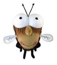 MerryMakers Fly Guy Plush Doll, 7 inch (17.8 cm)