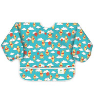 Bumkins Waterproof Sleeved Bib:  Winnie the Pooh Balloons, 6 months to 2 years
