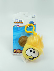Disney Club Penguin Puffle Clip-On: Yellow 2 inch (5 cm)