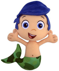 Fisher-Price Nickelodeon Bubble Guppies Gil Plush 8 inch (20 cm)
