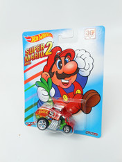 Hot Wheels Mario Series Collectible Die Cast Vehicle: Super Mario 2