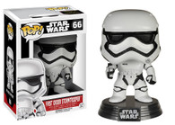 Star Wars The Force Awakens (EP7) Movie Based Pop! Collectible by Funko - First Order Stormtrooper + BONUS!
