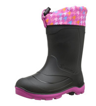 Kamik Footwear Snobuster2 Insulated Boot (Girls, Toddler/Little Kid/Big Kid), Colors:  Magenta/Blue