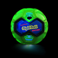Tangle NightBall Soccer - Light Up, Large 6.5 inch (16.5 cm)