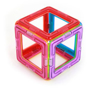 Magformers Square 6 Piece Magnetic Set
