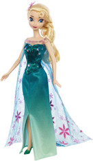 Disney Frozen Fever Elsa Doll, 12 inch (30.5 cm)