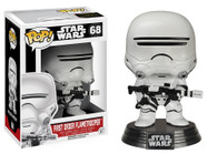 Star Wars The Force Awakens (EP7) Movie Based Pop! Collectible by Funko - First Order Flame Trooper + BONUS!