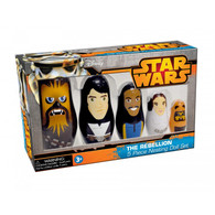 "Star Wars ""The Rebellion"" 5 Nesting Doll Set"