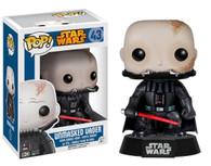 POP Star Wars: Unmasked Darth Vader Action Figure, Funko Collectible