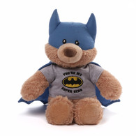 Gund DC Comics Batman - You Are My Superhero Plush, 10 inch (25.4 cm)