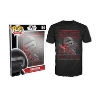 "Funko POP! Tee Star Wars The Force Awakens ""Kylo Ren Poster"" Limited Edition Unisex T-Shirt"