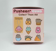 Gund Pusheen blind box - Food Series #1 Plush with a Ball Keychain, 2.75 inch (7 cm)