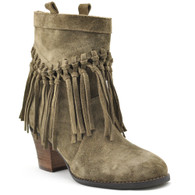 Sbicca Vintage Collection Sound Boots with Fringes