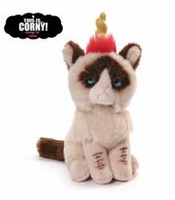 Gund Grumpy Cat Beanbag - Unicorn, 5 inch (12.7 cm)