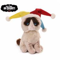 Gund Grumpy Cat Beanbag - Jester, 5 inch (12.7 cm)