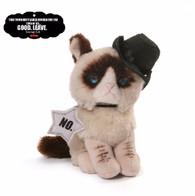Gund Grumpy Cat Beanbag - Cowboy, 5 inch (12.7 cm)