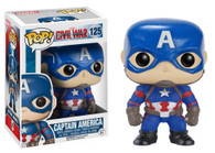 7223 POP Movies: Captain America 3: Civil War Action Figure - Captain America, Funko Collectible