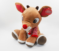Rudolph, The Red-Nosed Reindeer, LARGE 14 inch (35.56 cm) Plush Toy