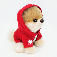 Gund Itty Bitty Boo #033 Hoodie Plush, Red, 5""