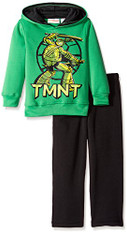 Teenage Mutant Ninja Turtles Boys' 2 Piece Fleece Hoodie and Pant Set, size 5/6