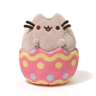 """Gund Pusheen Easter Egg Plush, 4.25"""""""