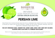 Persian Lime - Infused Ultra Premium Certified Extra Virgin Olive Oil