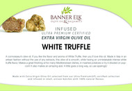 White Truffle - Infused Ultra Premium Certified Extra Virgin Olive Oil