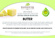 Butter - Infused Ultra Premium Certified Extra Virgin Olive Oil
