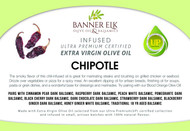 Chipotle - Infused Ultra Premium Certified Extra Virgin Olive Oil