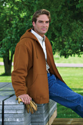 "Dunbrooke 8496 - ""Craftsman"" Hooded Insulated Jacket"