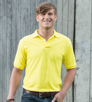 054X Hanes ComfortBlend EcoSmart Jersey Polo