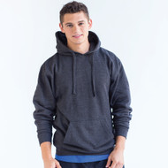 320 Adult Unisex Pullover Hoodie  (Heather Graphite)