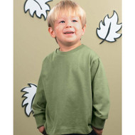 3311 RABBIT SKINS TODDLER LONG SLEEVE COTTON T-SHIRT