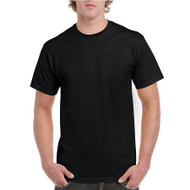 H000 Gildan Ring-Spun Cotton Hammer T-Shirt  - (Black)