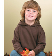 3326 Rabbit Skins Toddler Fleece Hooded Pullover with Pockets
