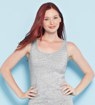 64200L GILDAN SOFTSTYLE LADIES' TANK TOP  (Sport Grey)