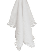 Carmel Towel Co. C1118 - Legacy Fringed Velour Cotton Towel