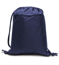 8891 LIBERTY BAGS ULTRA PERFORMANCE DRAWSTRING BACKPACK  (Navy)