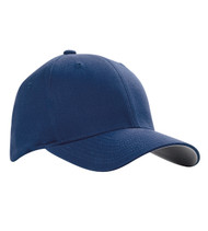 5001C V-FLEXFIT ADULT COTTON TWILL CAP  (Navy)