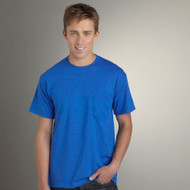 8300 GILDAN DRYBLEND ADULT TEE WITH POCKET