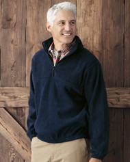 3051 Sierra Pacific Adult Anti-Pill Fleece Quarter-Zip Pullover